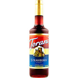 Strawberry Torani Syrup