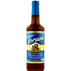 Sugar Free Brown Sugar Cinnamon Torani Syrup