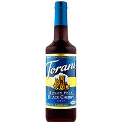 Sugar Free Black Cherry Torani Syrup