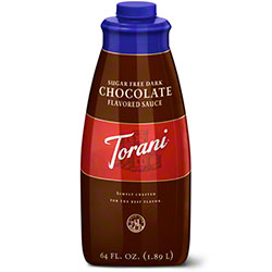 Sugar Free Dark Chocolate Torani Sauce