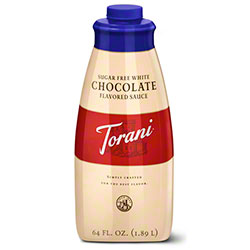 Sugar Free White Chocolate Torani Sauce
