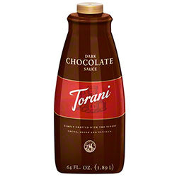 Dark Chocolate Torani Sauce