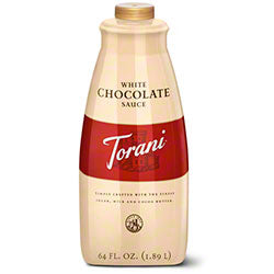 White Chocolate Torani Sauce