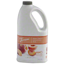 Peach Torani Smoothie Mix