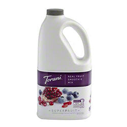 Blueberry Pomegranate Torani Smoothie Mix