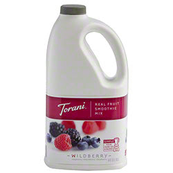 Wildberry Torani Smoothie Mix