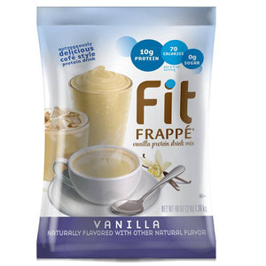 Big Train  Fit Frappe Vanilla Protein Beverage Mix