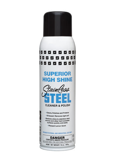 Superior High Shine Stainless Steel Polish