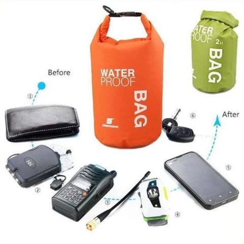Image of PVC Ultra Light DRY BAG Protects Your Items Water Even In The Most Severe Conditions