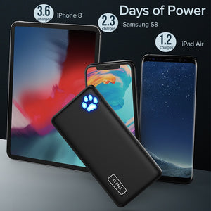 10000mAh Dual USB 3A Portable Charger