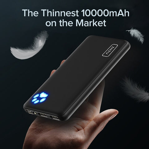 Image of 10000mAh Dual USB 3A Portable Charger