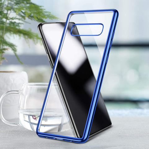 Image of Anti-Yellow Clear Samsung Galaxy Note10 S10e S9 S8 S10 Phone Case