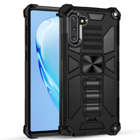 Image of Samsung Galaxy S20 Ultra Note 10 Shockproof Case with Magnetic Ring Bracket Hybrid