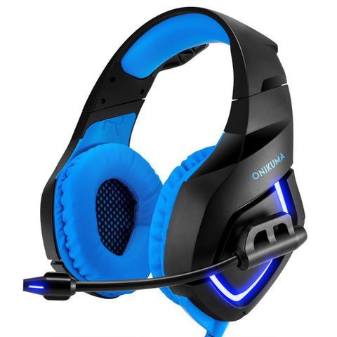 Image of Deep Bass Gaming Headphones with Light Mic