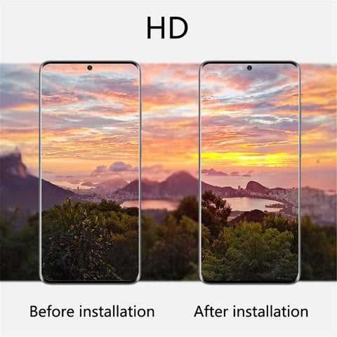 Image of 4 Piece Samsung Galaxy S20 S20+ S20Ultra Note20 Note20Ultra Tempered Glass Camera Lens Protector