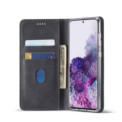 Image of Leather Case for Samsung Galaxy S20 Plus Ultra A01 A21 A51 A71 A81 A91 A11 A41 A70E Luxury Magneti Card Holder Wallet Cover