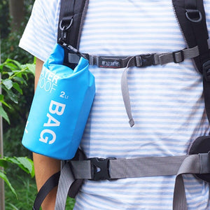PVC Ultra Light DRY BAG Protects Your Items Water Even In The Most Severe Conditions