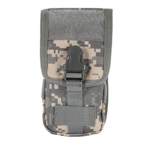 Image of Outdoor Tratical pouch Molle Pouch Cover 600D Mobile phone pouch Military Tactical Camo Belt Pouch