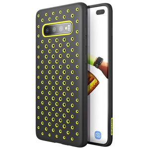 Samsung Galaxy S10 Plus Hole Pattern Case with Heat Dissipation