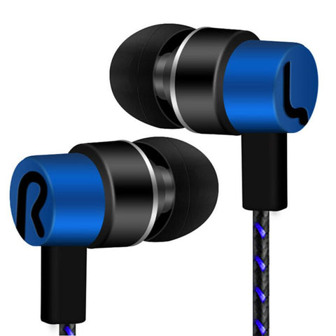 New  Universal 3.5mm In-Ear Stereo Earbuds Earphone For Cell Phone