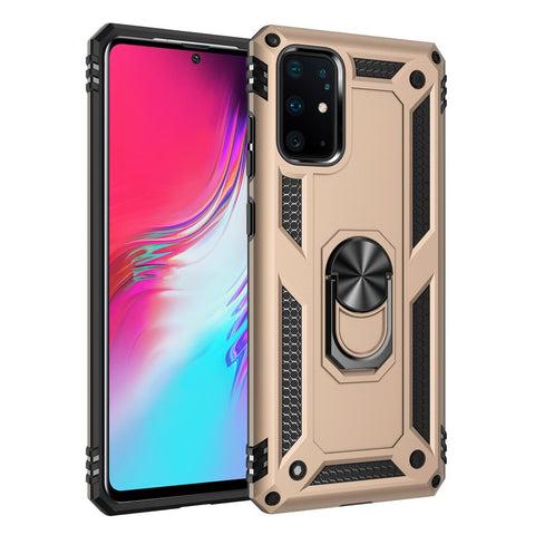 Samsung Galaxy S20 S20+/S20 Ultra 5G S10 S9 Note 10 Plus A51 Case with Kickstand Magnetic Car Mount