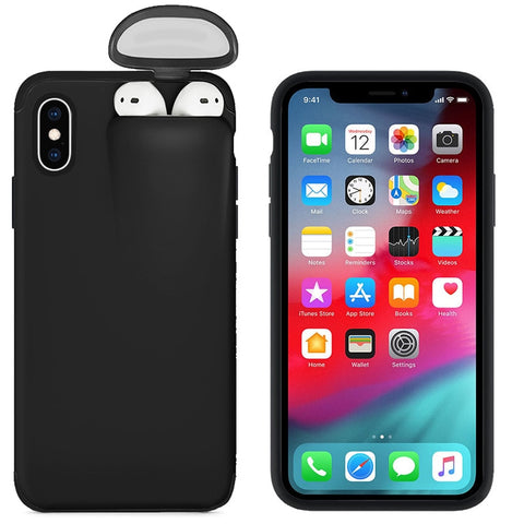 Image of Protective Case + Airpods Storage! Made For Your iPhone 11, 11 Pro, 11 Pro Max, X, XS, XS Max, XR