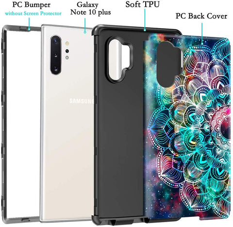 Image of Samsung Galaxy S9 S10 Plus Note 10 Note 9 Full Body Case 3 in 1
