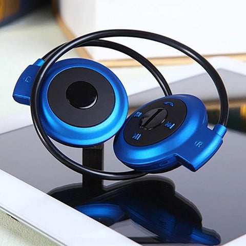 Image of Foldable Sport Bluetooth Noise Reduction FM Radio Headphones