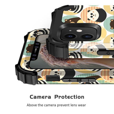 Heavy Duty Shockproof Bear Case for iPhone 11