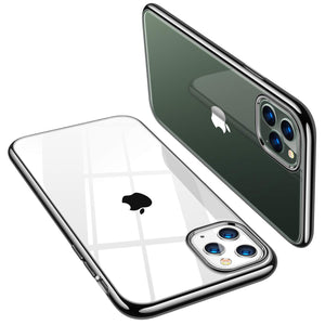 iPhone 11 Pro Max Xs XR Slim Thin Clear Case