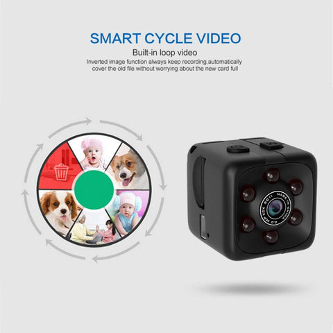 SQ11 Mini Camera 32GB 1080P Sensor Night Camcorder Motion DVR Micro Camera Sport DV Video Small Camera Cam