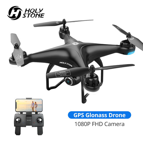 GPS Professional Quadcopter Drone with 1080p HD Camera  Wifi and RC