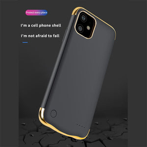 Power bank 6000mAh Extended Battery Case Phone PowerBank Charging Cover for iphone 11/11 Pro/11 Pro Max