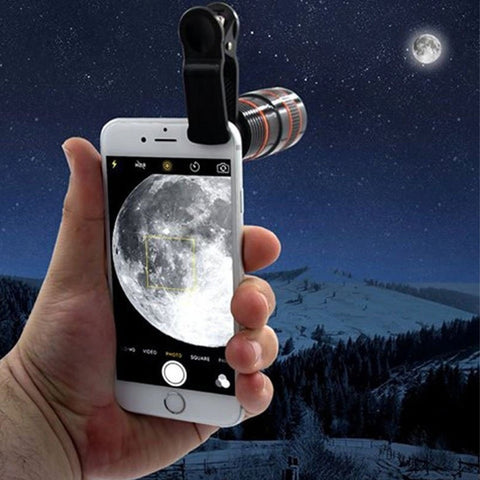 Image of Universal 12X Zoom Mobile Phone Telescope Lens for Samsung