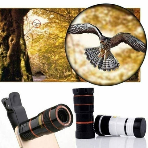 Universal 12X Zoom Mobile Phone Telescope Lens for Samsung