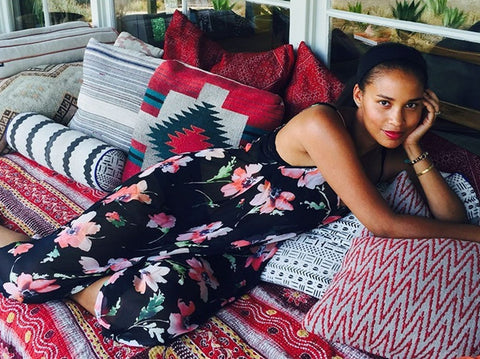Joy Bryant's Basic Terrain line pops up at Satine (Los Angeles Times)