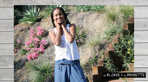 Celebrity Style: Joy Bryant's Not-So-Basic, Basic Terrain (The Blonde and the Brunette)