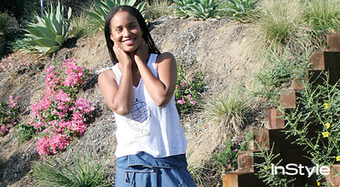 Launch You'll Love: Parenthood's Joy Bryant Debuts Basic Terrain Clothing Line (InStyle)