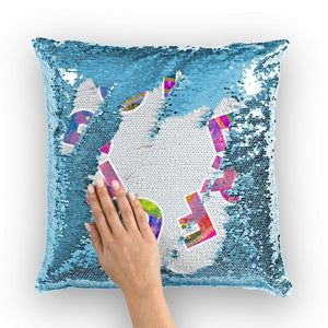 Open image in slideshow, Powerful Sequin Cushion Cover - AADHE