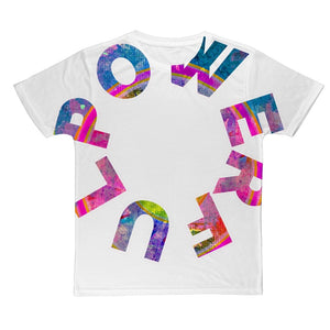 Open image in slideshow, Powerful Sublimation T-Shirt - AADHE