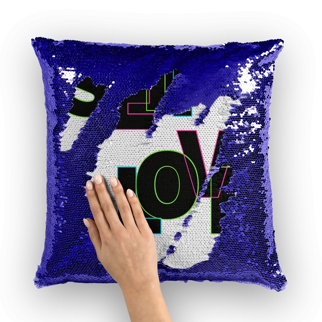 Self Love Sequin Cushion Cover - AADHE