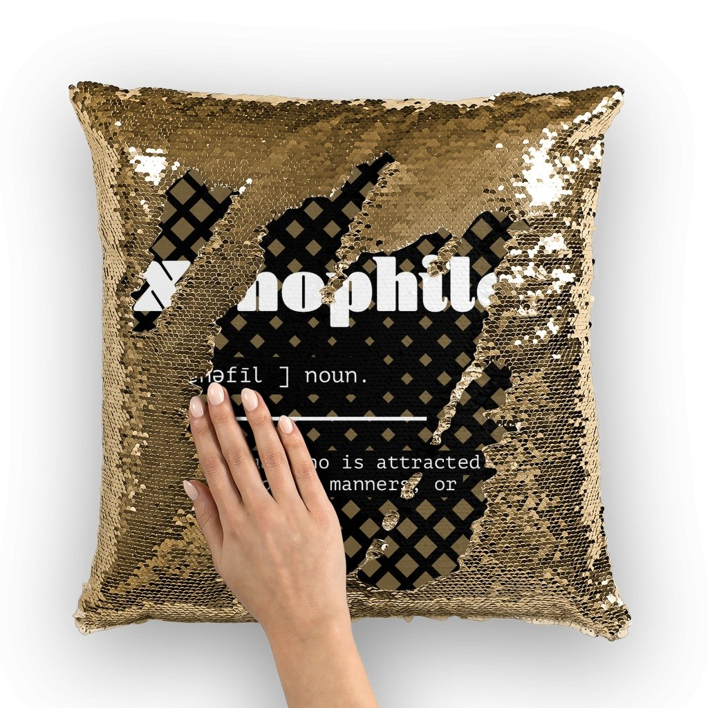 Xenophile Sequin Cushion Cover - AADHE