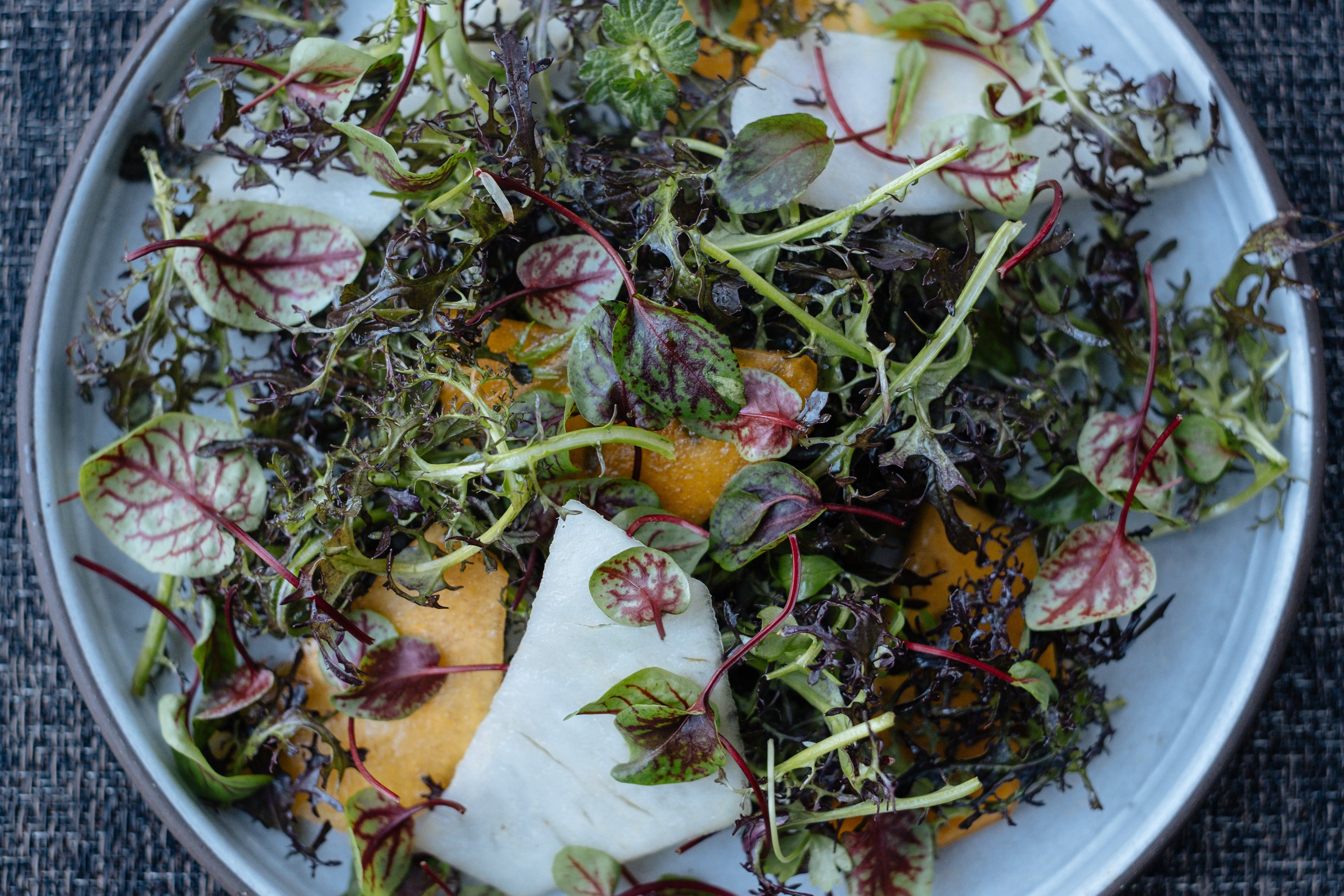 Farmers Salad with Red Wine Vinaigrette