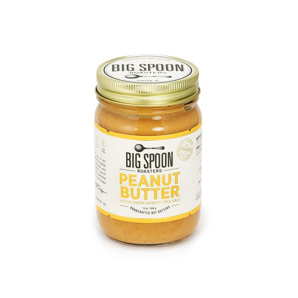Peanut Butter Wildflower Honey & Sea Salt (13 oz)
