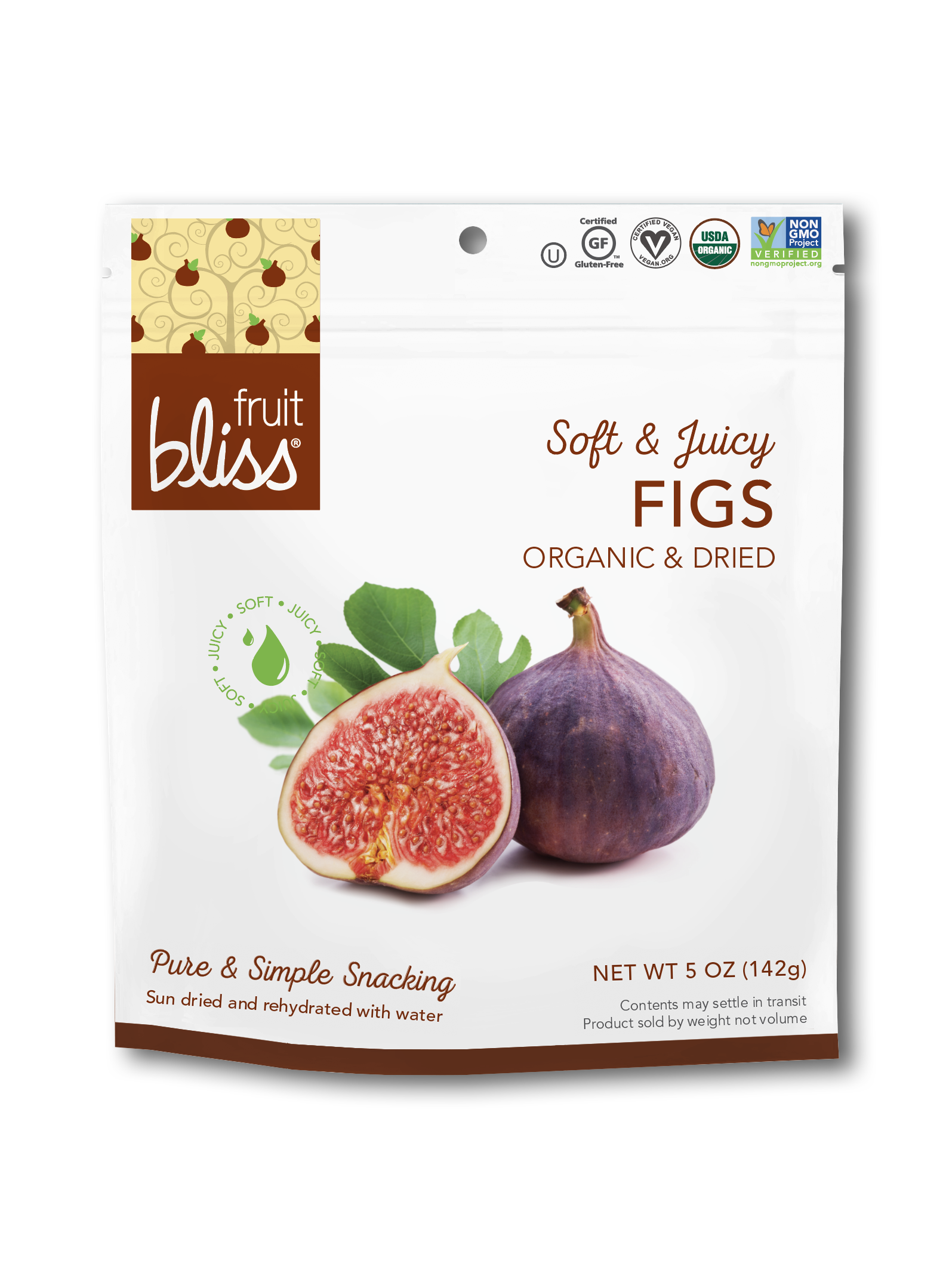 Organic & Dried Figs(4 oz)