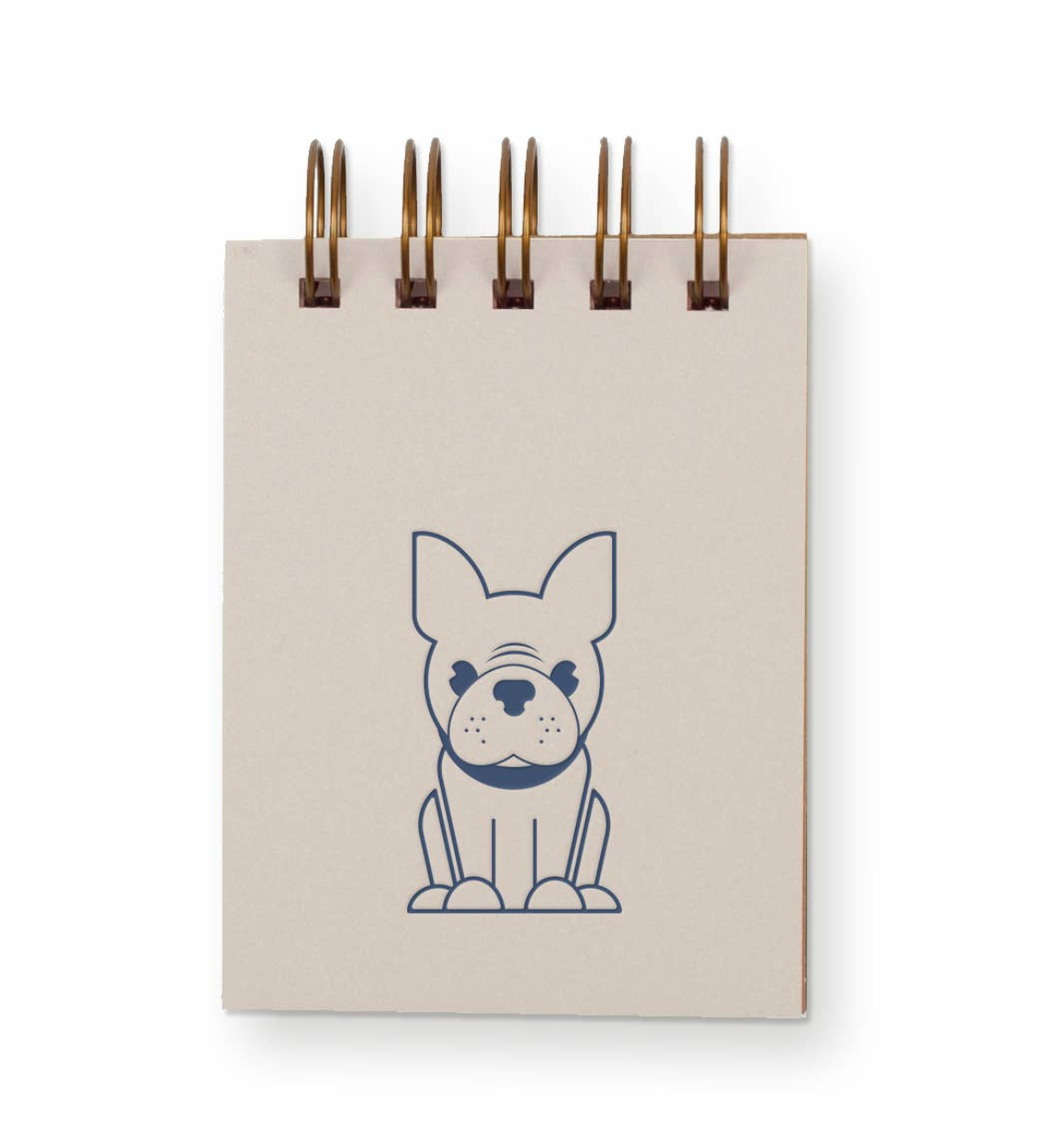 Mini-Jotter Notebook - Frenchie