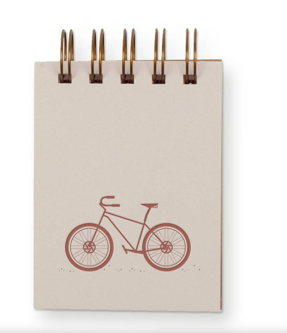 Mini-Jotter Notebook - Bike