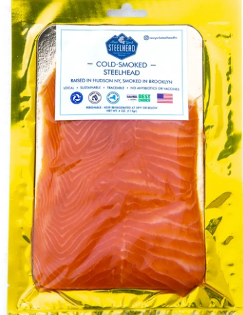 Smoked Steelhead Trout Lox (4 oz)