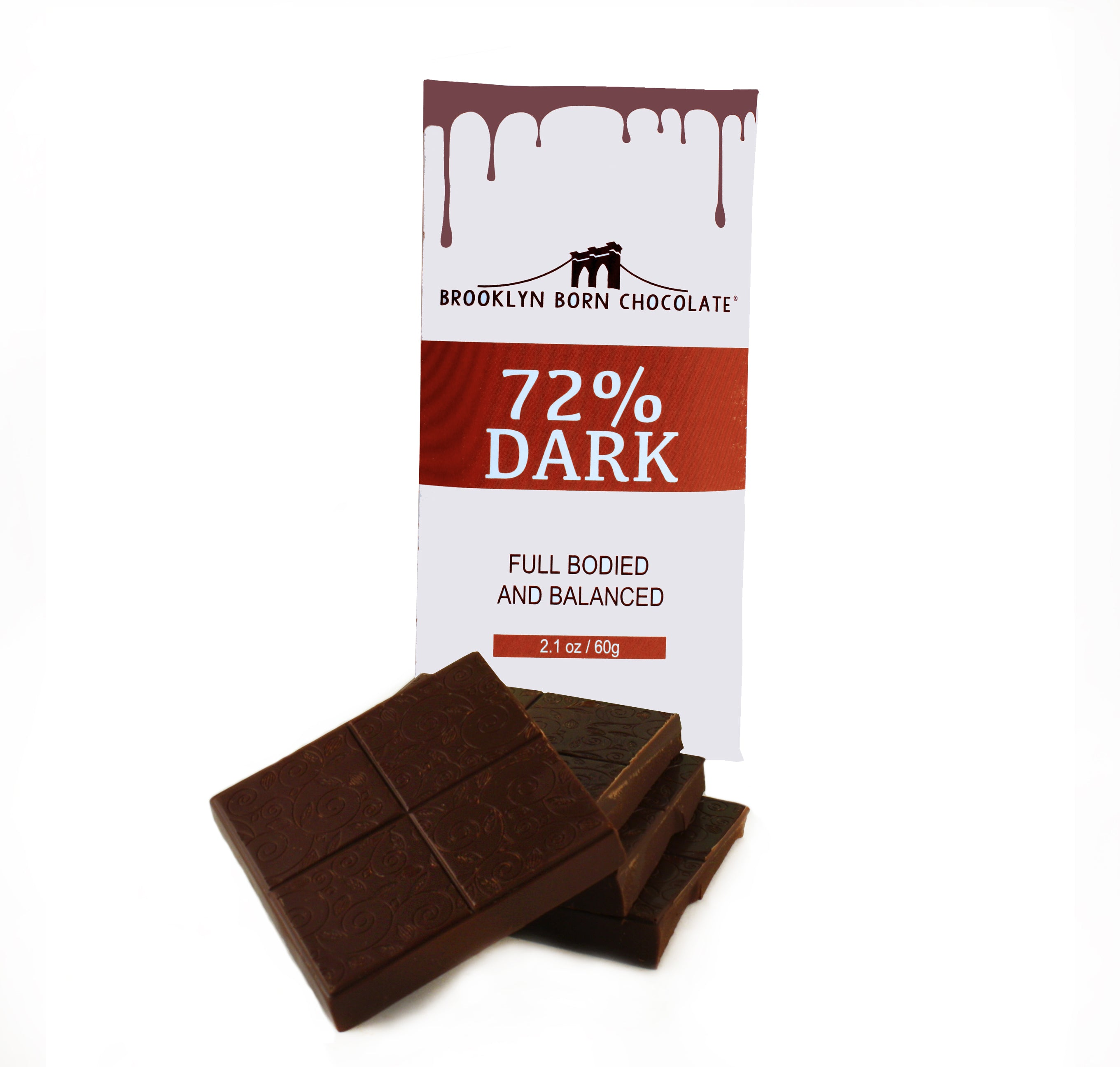 Brooklyn Born Dark Chocolate Bar (2.1 oz)