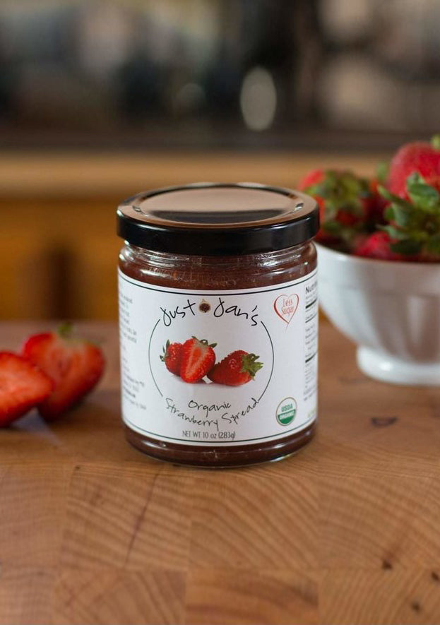 Organic Strawberry Spread (10 oz)